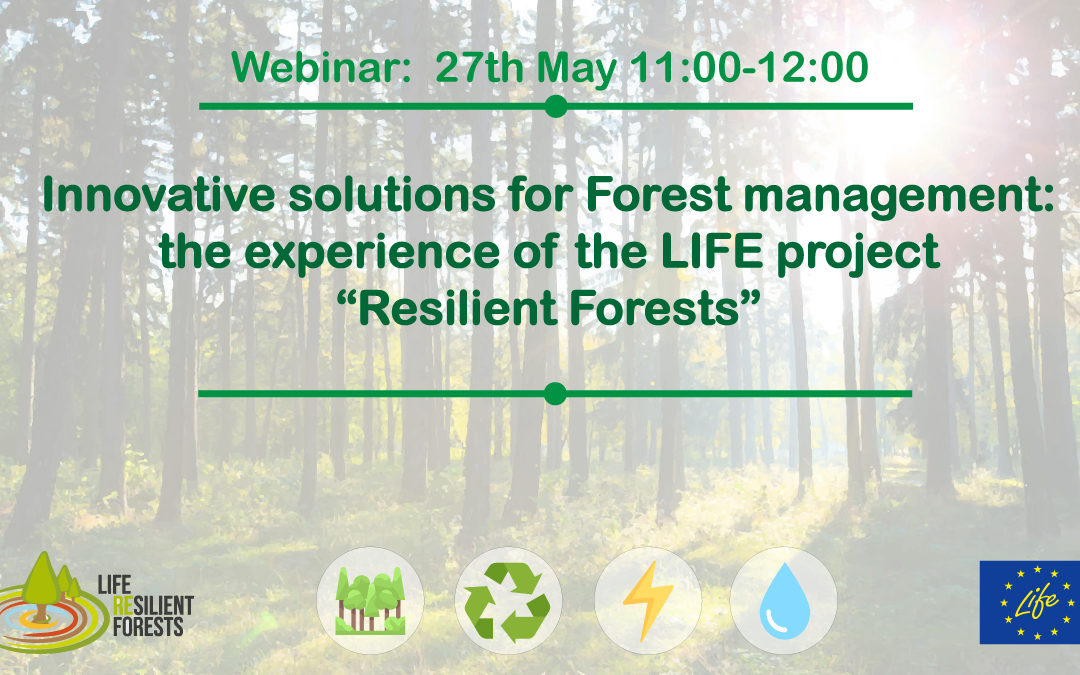 Webinar on «Innovative solutions for forest management»: video and presentations