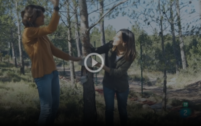 """Resilient Forests featured in the Spanish TV programme """"Reduce tu Huella"""""""